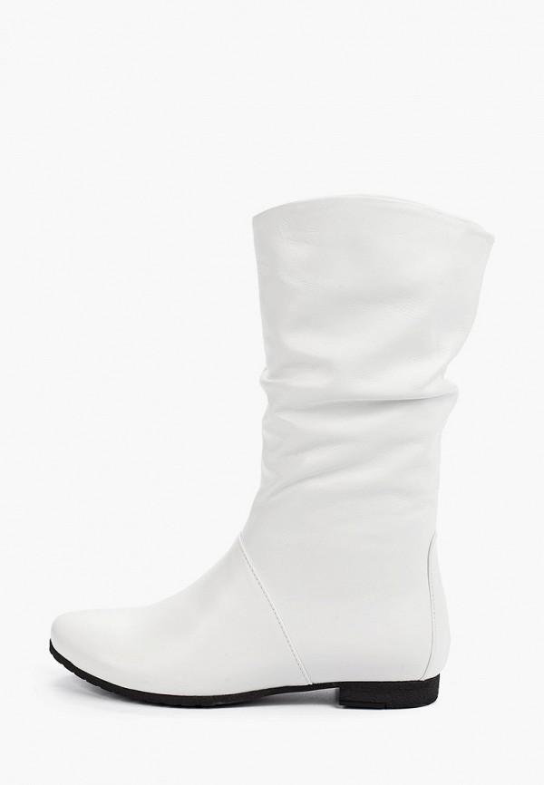 женские сапоги gresco, белые