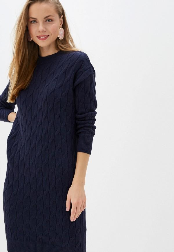 Купить Платье Zarina синего цвета