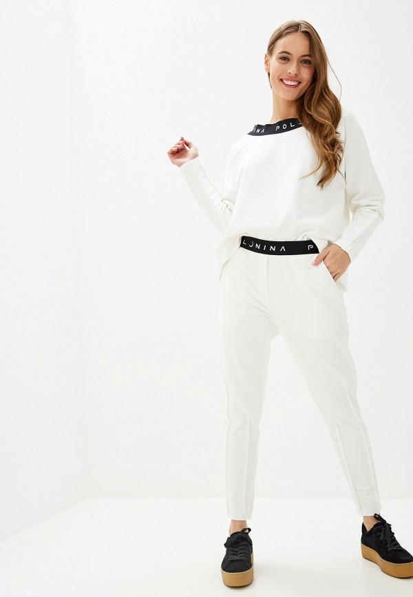 женский спортивный костюм polunina, белый