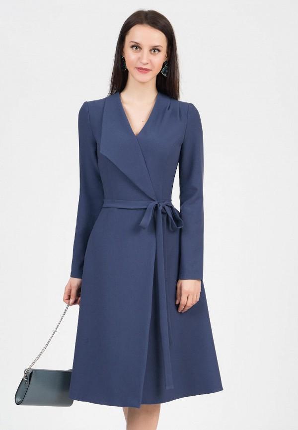 женское платье grey cat, синее