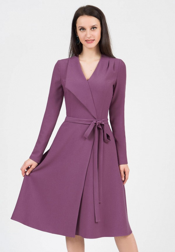 женское платье grey cat, фиолетовое