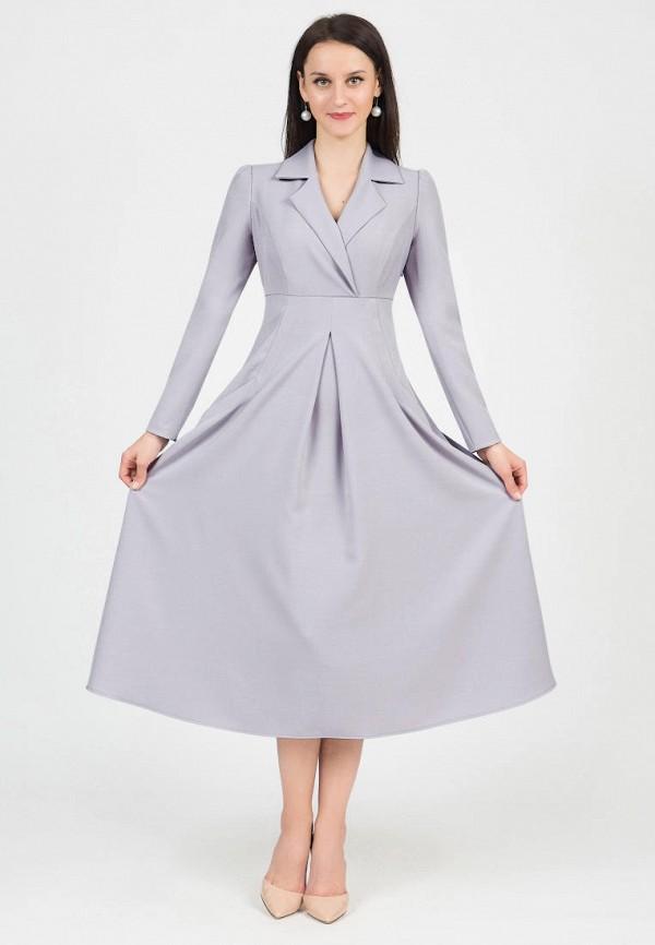 женское платье grey cat, серое