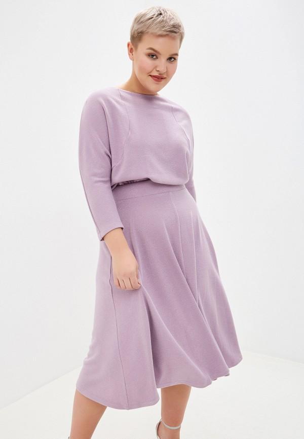 женское платье forus, фиолетовое