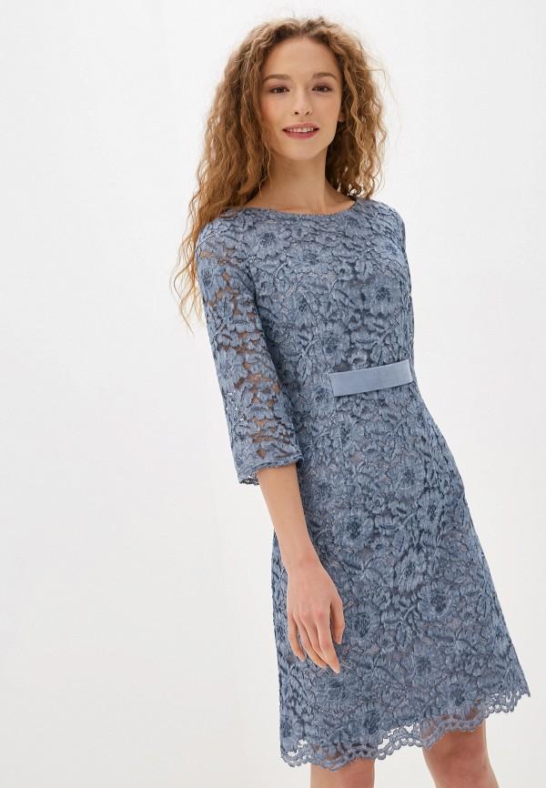 женское платье argent, голубое