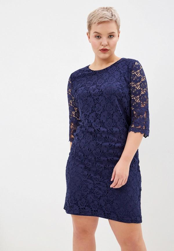 женское платье forus, синее