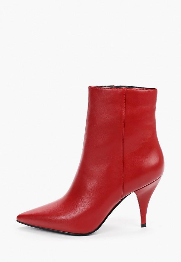 женские ботильоны graciana, красные