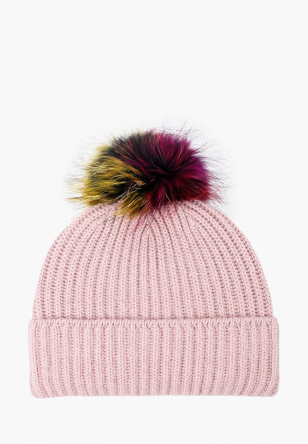 женская шапка marhatter, розовая