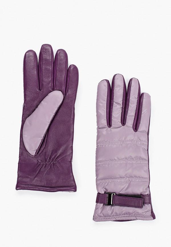 женские перчатки labbra, фиолетовые