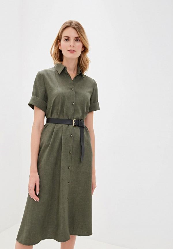 женское платье alina assi, зеленое