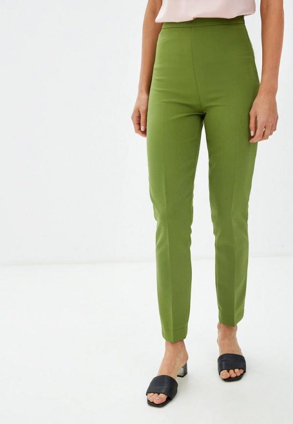 женские классические брюки gepur, зеленые