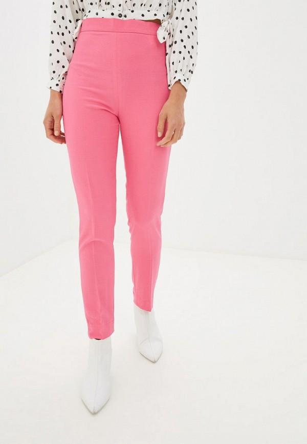 женские классические брюки gepur, розовые