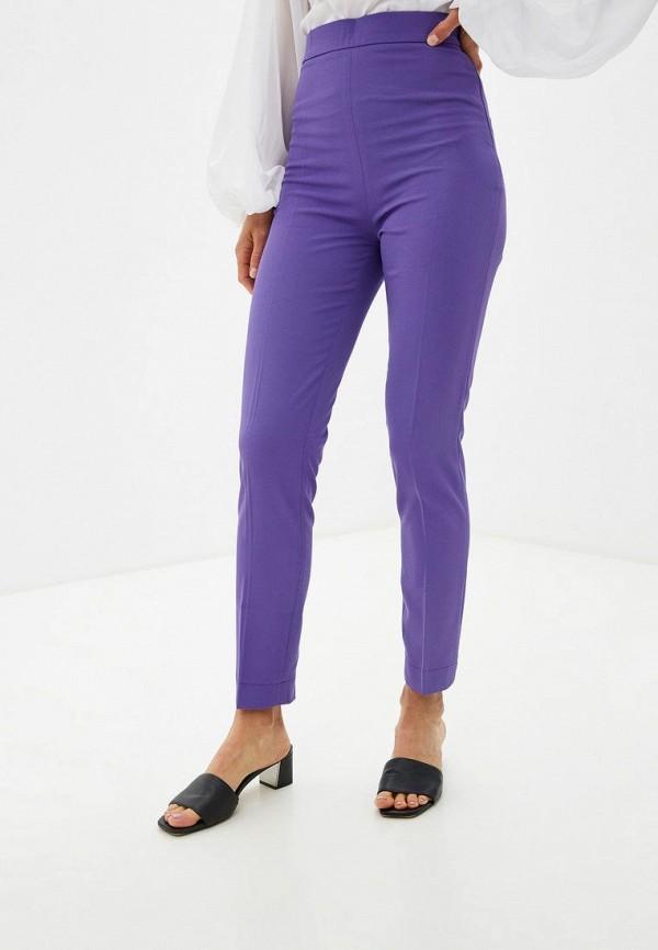 женские классические брюки gepur, фиолетовые