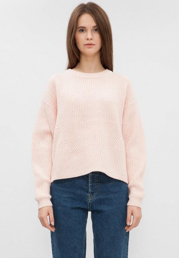 женский джемпер preppy, розовый