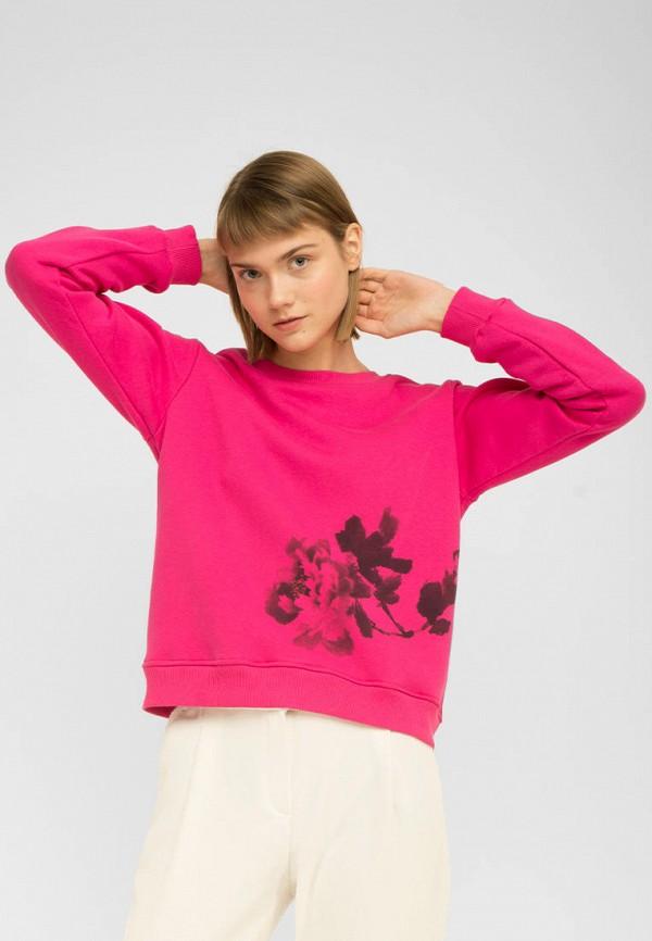 женский свитшот the hugs, розовый
