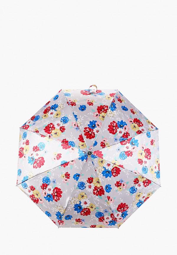 женский зонт zemsa, серый