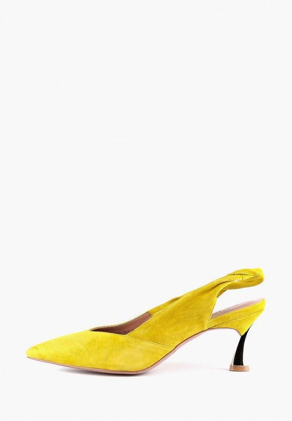 женские туфли sasha fabiani, желтые