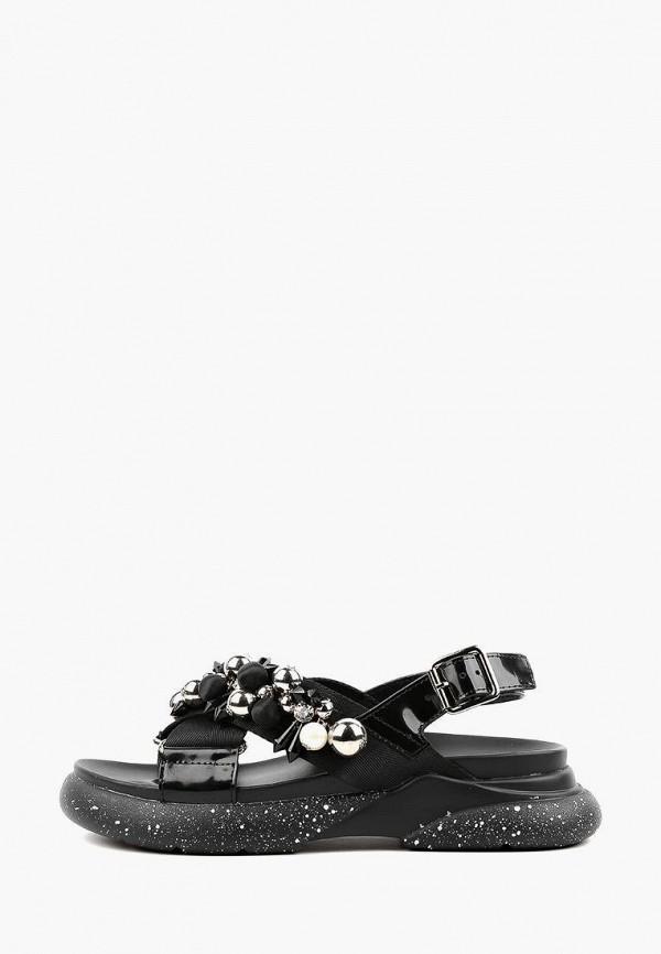 женские сандалии sasha fabiani, черные