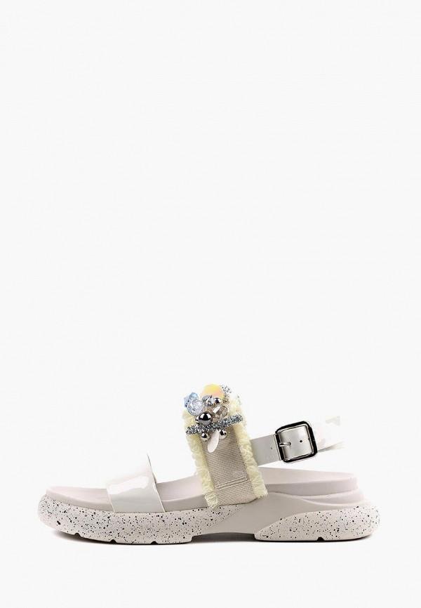женские сандалии sasha fabiani, белые