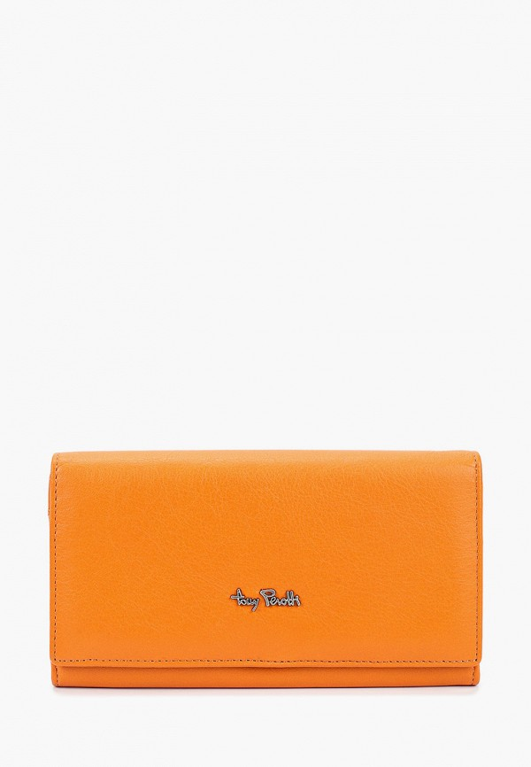 женский кошелёк tony perotti, оранжевый