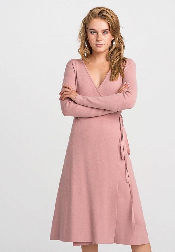 женское платье befree, розовое