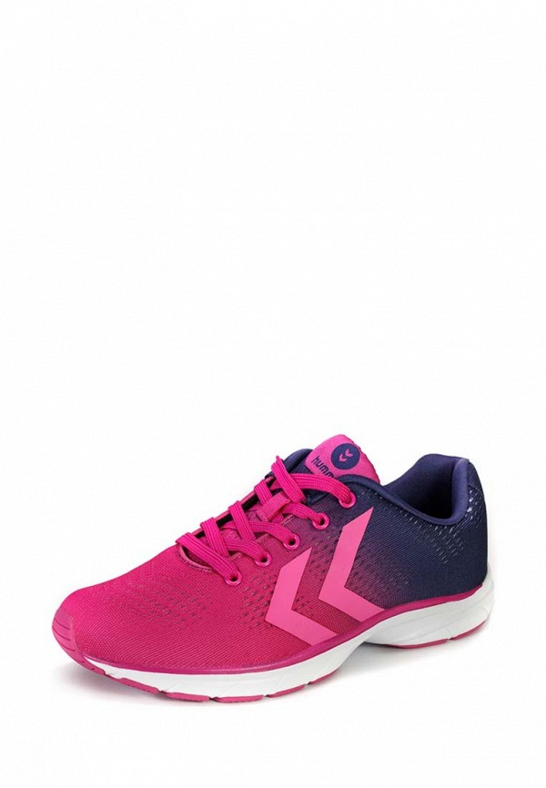 Фото 14 - женские кроссовки Hummel розового цвета