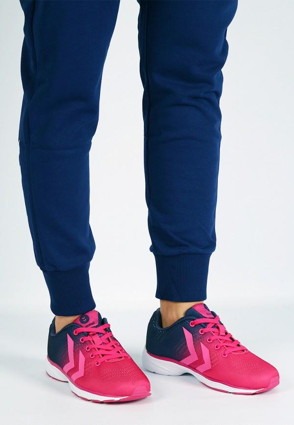 Фото 15 - женские кроссовки Hummel розового цвета