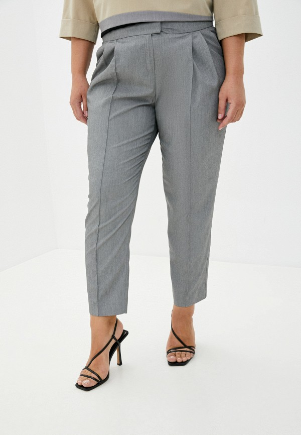 женские классические брюки ummami, серые