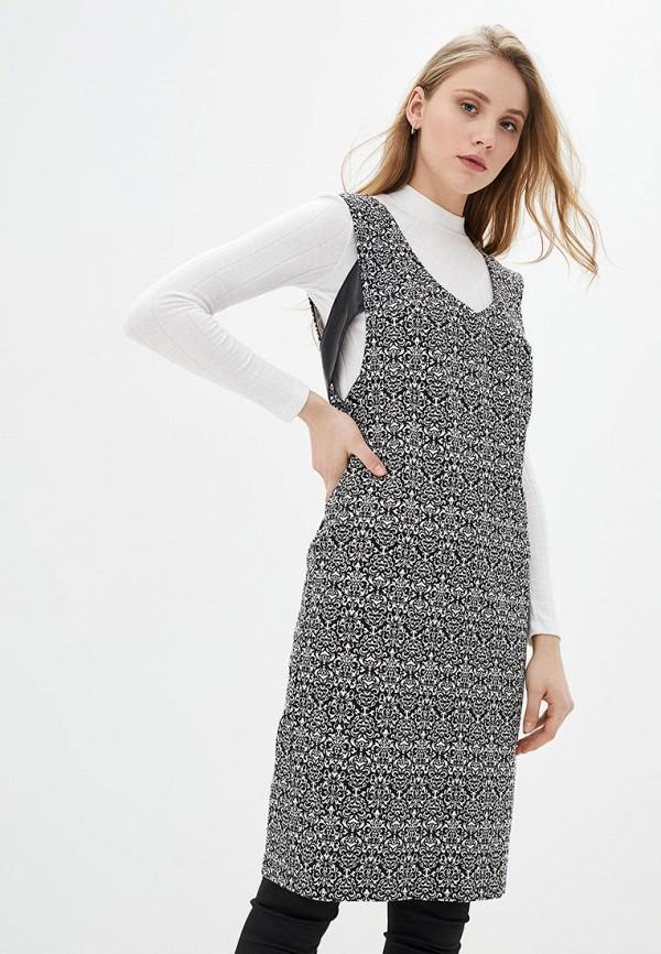 женское повседневные платье modniy oazis, серое