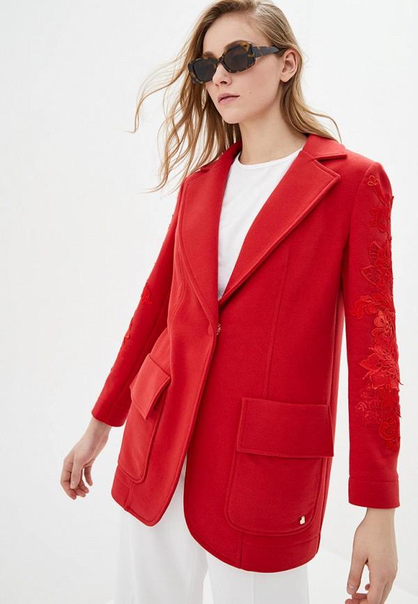 женский жакет o&j, красный