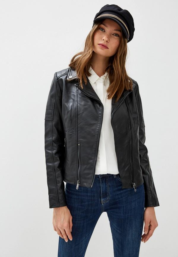 Куртка кожаная La Reine Blanche La Reine Blanche MP002XW125K5