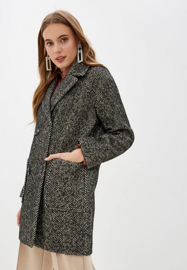 женское пальто acasta, черное