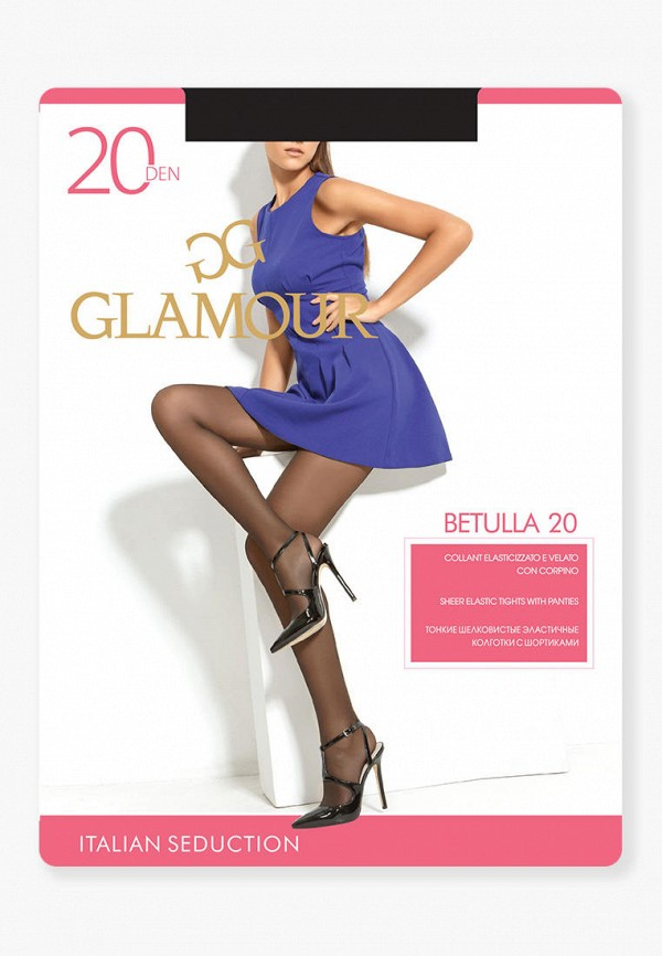 Колготки Glamour Glamour MP002XW125OR колготки glamour velour 5 70 den черный