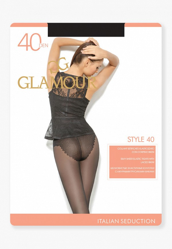 Колготки Glamour Glamour MP002XW125PE колготки glamour velour 5 70 den черный