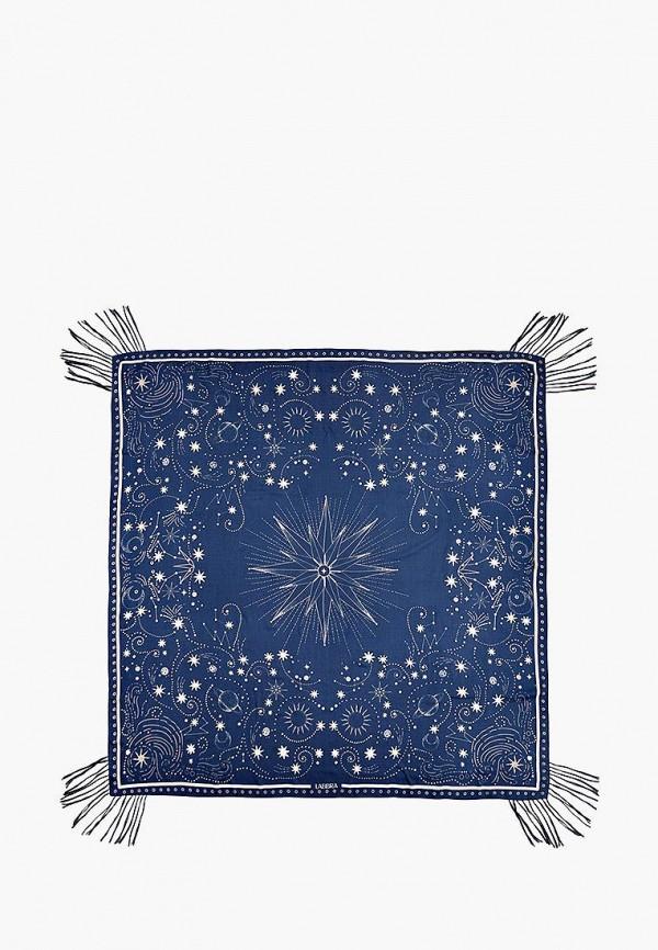 Платок Labbra цвет синий  Фото 2