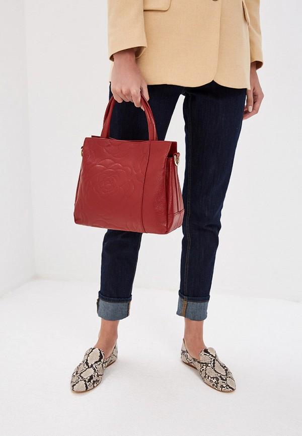 Фото 4 - Женскую сумку Cheribags бордового цвета
