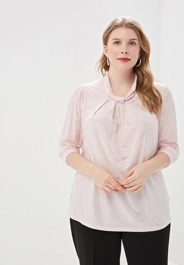 женская блузка olsi, розовая