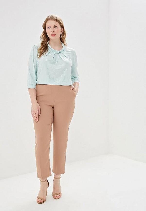 Блуза Olsi цвет бирюзовый  Фото 2