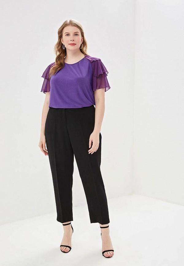 Блуза Olsi цвет фиолетовый  Фото 2