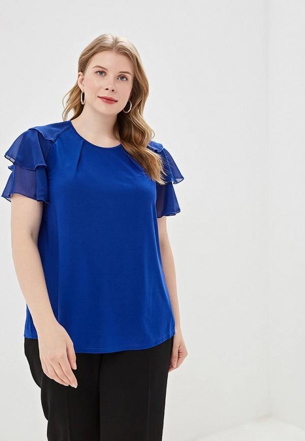 женская блузка olsi, синяя