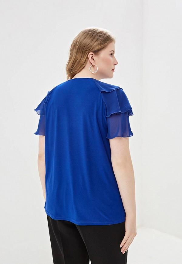Блуза Olsi цвет синий  Фото 3