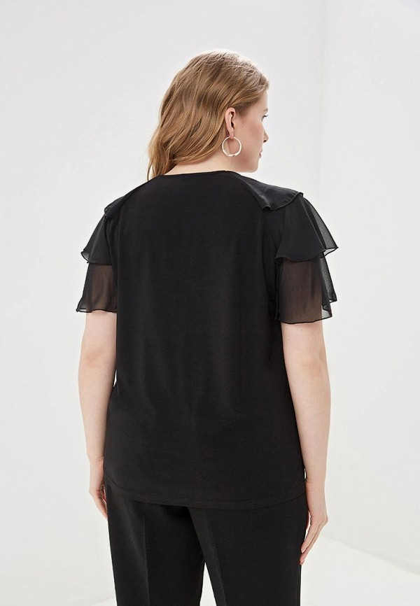 Блуза Olsi цвет черный  Фото 3