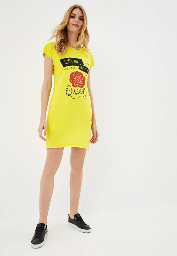 Платье Whitney цвет желтый  Фото 2