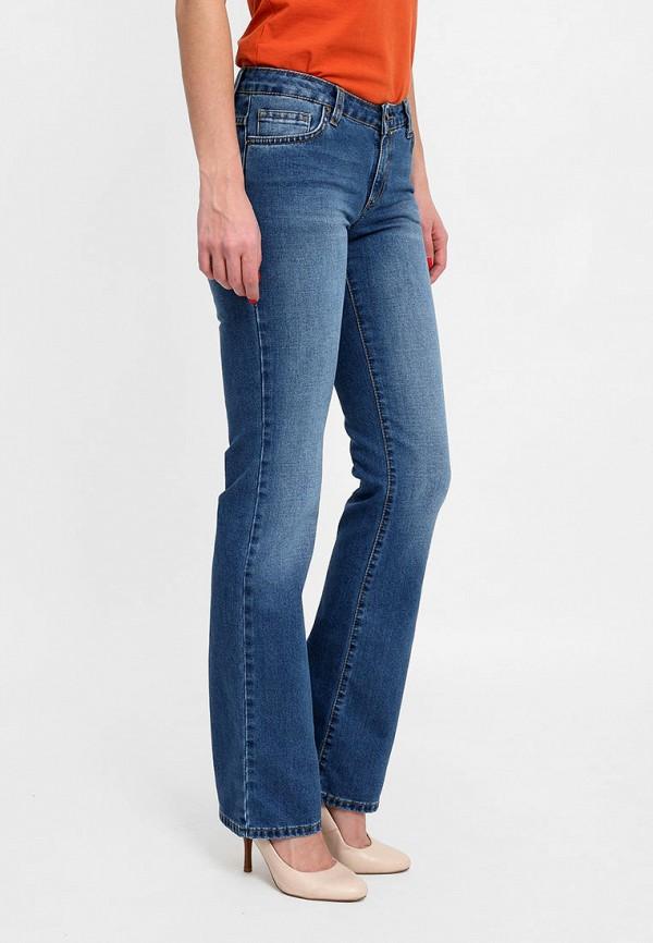 женские джинсы клеш f5, синие