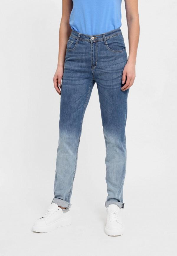 женские прямые джинсы f5, голубые
