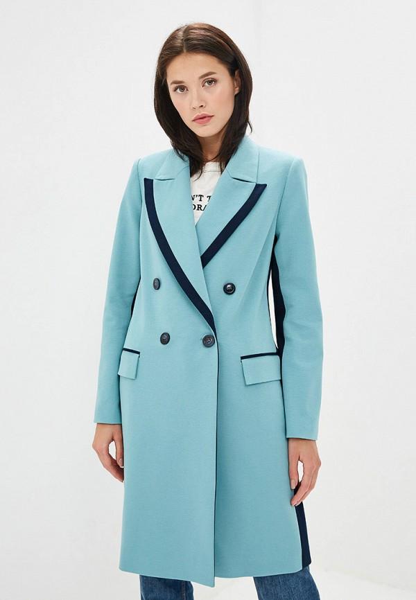 Пальто Ruxara цвет бирюзовый