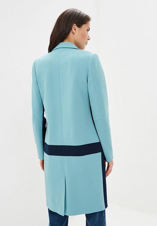 Пальто Ruxara цвет бирюзовый  Фото 3