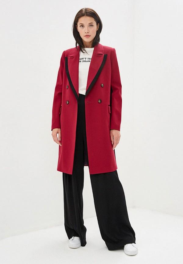 Пальто Ruxara цвет бордовый  Фото 2