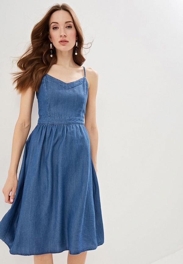 Платье джинсовое Zarina Zarina MP002XW12BOJ