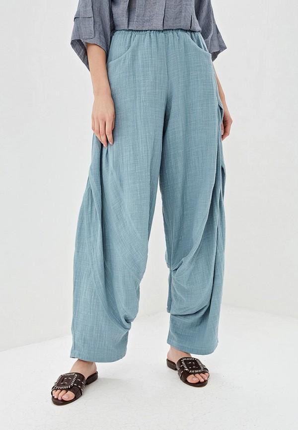 женские повседневные брюки мадам т, бирюзовые