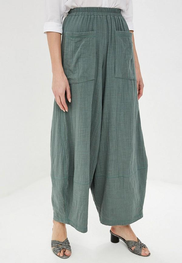 женские повседневные брюки мадам т, зеленые